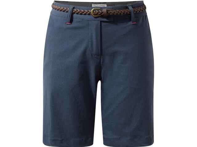 Craghoppers NosiLife Fleurie II Shorts Damen soft navy